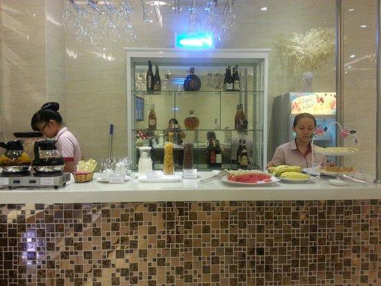 Ruby River Hotel : breakfast