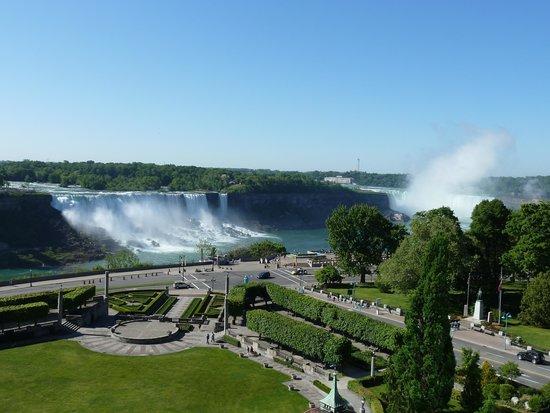 Four Points by Sheraton Niagara Falls Fallsview: la vue de la chambre