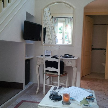 Hotel La Grande Bastide : suite duplex