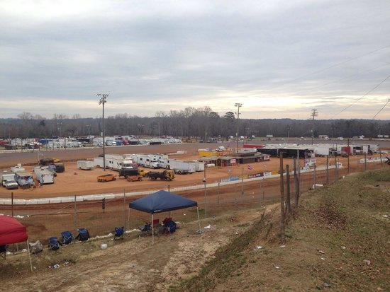 Phenix City, Алабама: East alabama motor speedway bama bash morning 2014