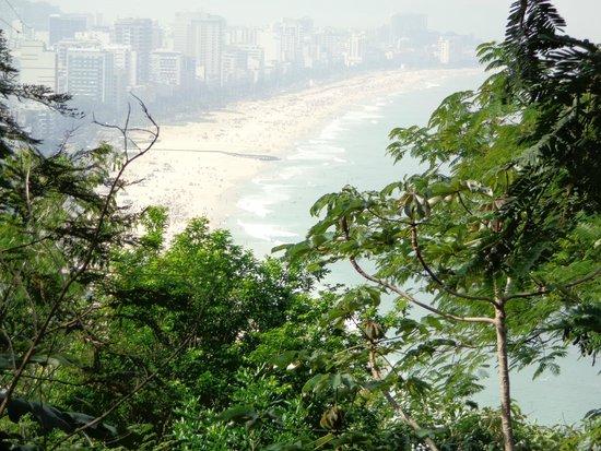 Morro Dois Irmaos: Vista Parque Dois Irmão