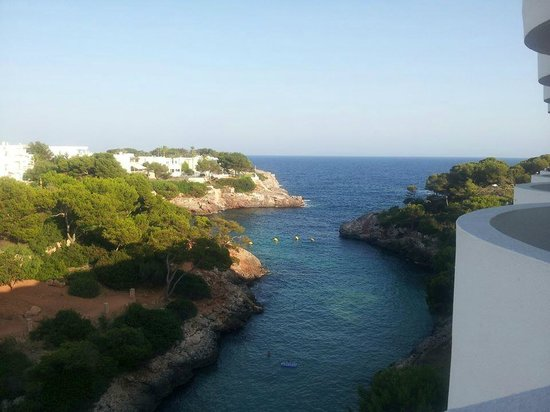 AluaSoul Mallorca Resort: Our balcony view