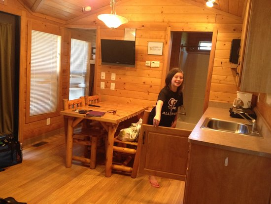 Fayetteville RV Resort & Cottages: Kitchen