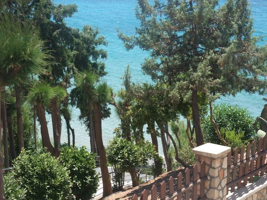 Lindia Thalassa Resort: View from our Balcony