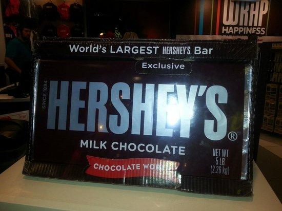 New York - New York Hotel and Casino : 5lbs of chocolate!!