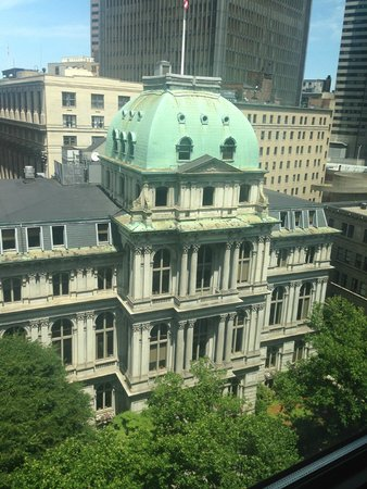 Omni Parker House: View out the window