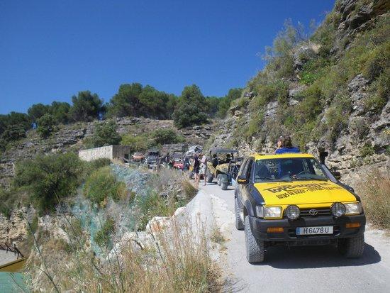 Top Buggy: De camino hacia el Tajo - heading towards the Ronda Gorge