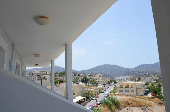 Hotel Sunrise: widok z balkonu