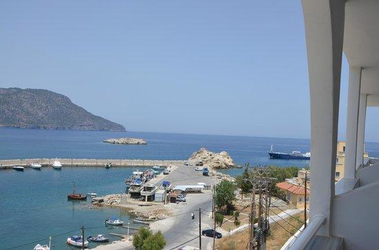 Hotel Sunrise: widok na port i zatokę