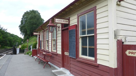 Goathland station 's avonds