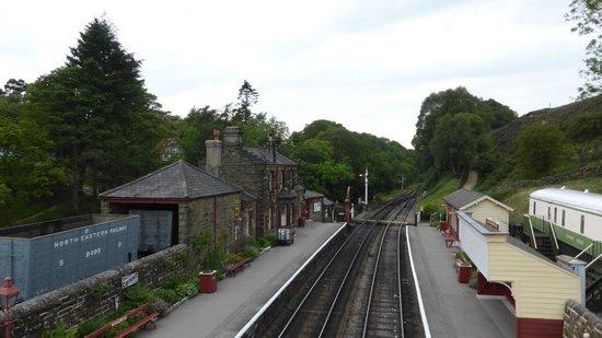 Goathland Station: Station Goathland 's avonds