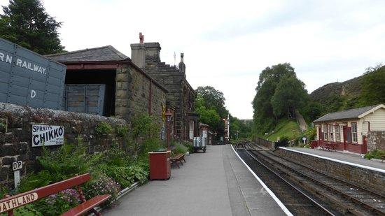 Goathland Station: Rustig op station Goathland 's avonds