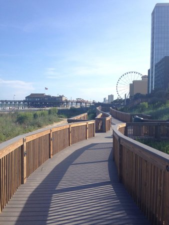 Myrtle Beach Boardwalk & Promenade: Boardwalk
