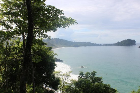 Arenas del Mar Beachfront & Rainforest Resort: View from breakfast