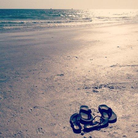 Bilmar Beach Resort: Beach Area - Quite the Hike, but WORTH it!