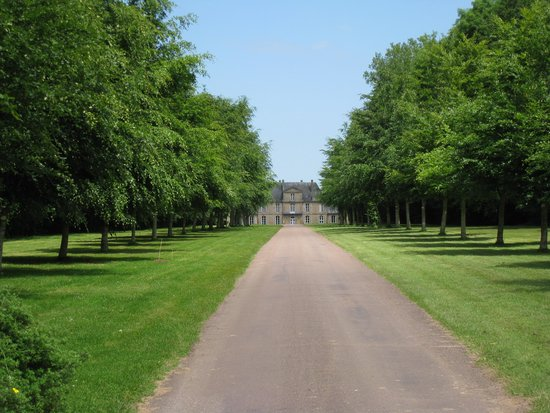 Chateau de Martragny: Your first view down the drive