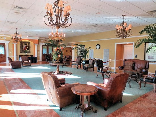 Safety Harbor Resort and Spa: reception room