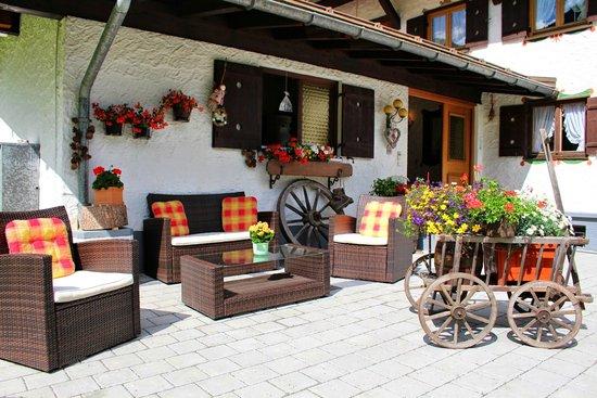 Pension Gatterhof: Hauseingang