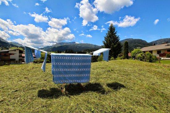 Pension Gatterhof: Frische Wäsche - alles wird im Gatterhof gewaschen