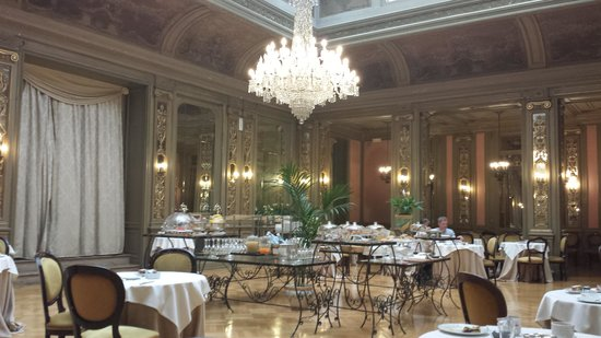 Grand Hotel et Des Palmes : sala breakfast