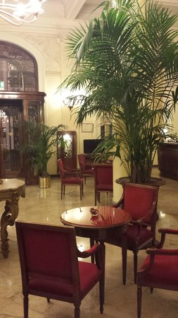 Grand Hotel et Des Palmes : hall