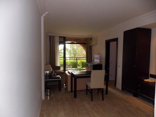 TUI Sensimar Marmaris Imperial Hotel : Lounge area of Superior room