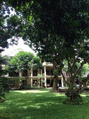 Lawiswis Kawayan Garden Resort & Spa: Garden area