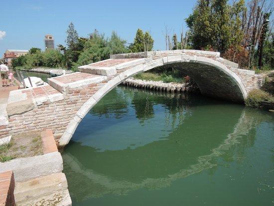 Isla de Torcello: ponte del diavolo