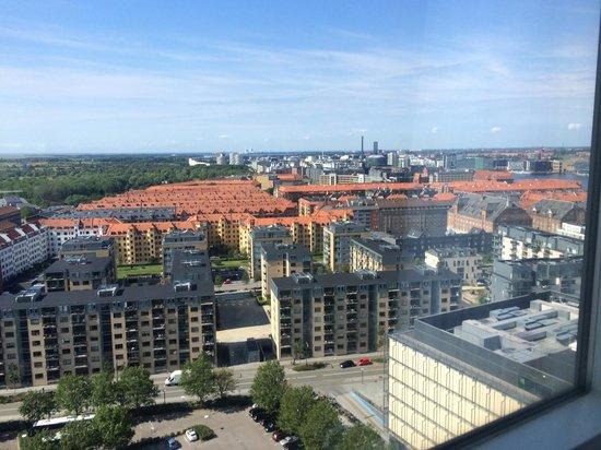 Radisson Blu Scandinavia Hotel, Copenhagen: Utsikt fra 20. etg