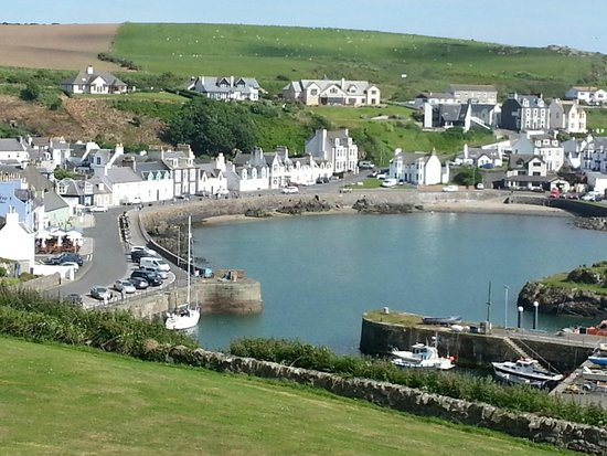 The Portpatrick Hotel: View from Hotel