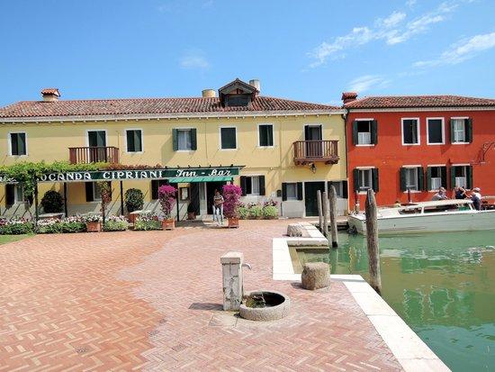 Isla de Torcello: scorcio di Torcello