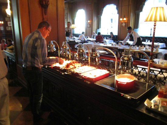 Grand Hotel: Breakfast selections