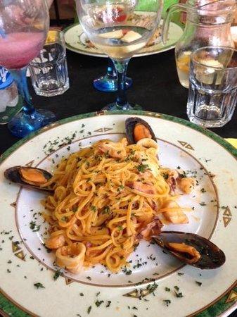 El Viento Del Sciroco: spaghetti ai frutti di mare
