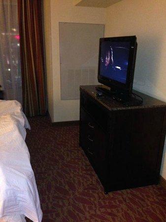 Hilton Garden Inn Augusta : T.V.
