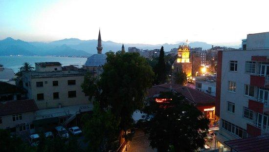 Hotel Twenty: nice sunset from terrace