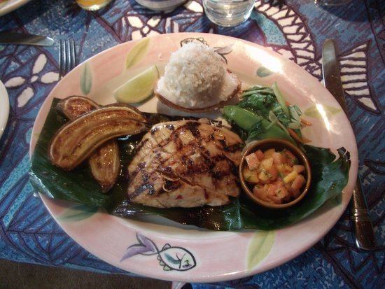 Mama's Fish House: One of the delicious dishes