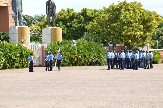 The National Palace of Culture...: Police Parade