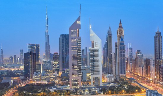 Emirates Towers Hotel (Sheikh Zayed Road.)