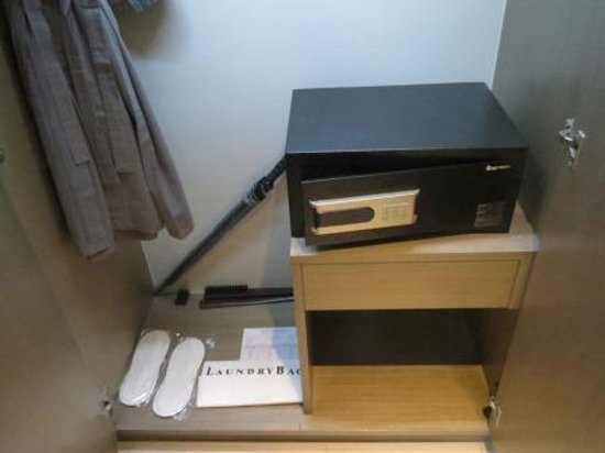 Best Western Premier Sukhumvit: security box