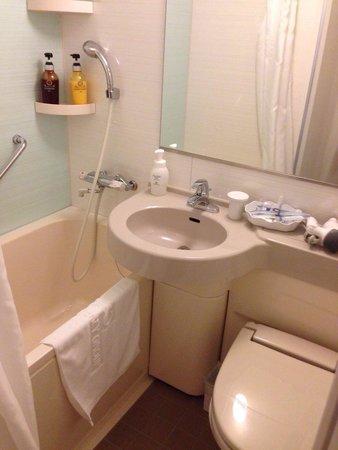 Hotel Monte Hermana Sendai : バスルーム