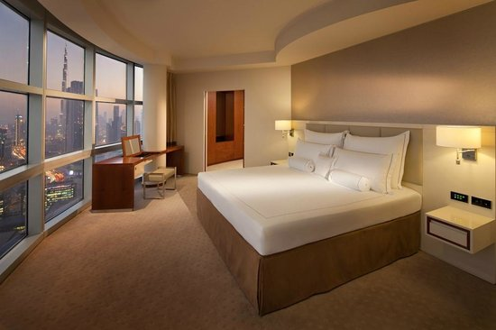 Jumeirah Emirates Towers: Club Suite Bedroom