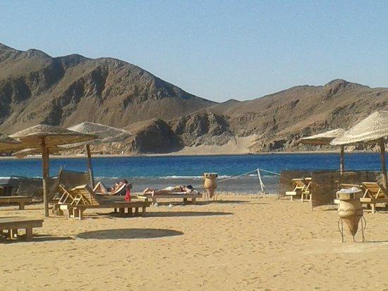 Miramar Resort Taba Heights : widok z plaży
