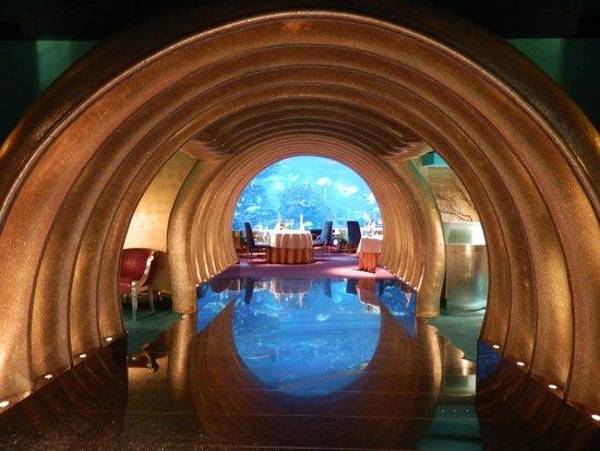 Burj Al Arab Jumeirah: ingresso al ristorante sottomarino