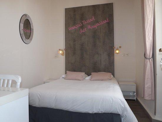 Hotel Chalet de l'Isere: Chambre superieure de Francois Tassart, valet de chambre de Guy de Maupassant