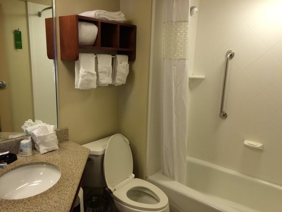 Hampton Inn Lancaster: Bath