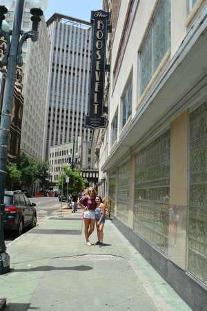 The Roosevelt New Orleans, A Waldorf Astoria Hotel: View from the street
