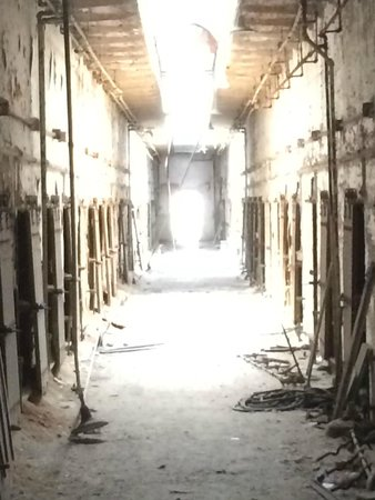 Cell Block at Eastern State Penitentiary
