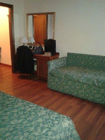 Hotel Croce Bianca: stanza