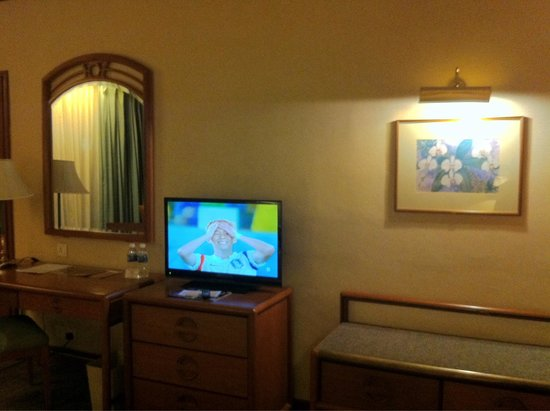 Sabah Oriental Hotel: Adequately equipped room