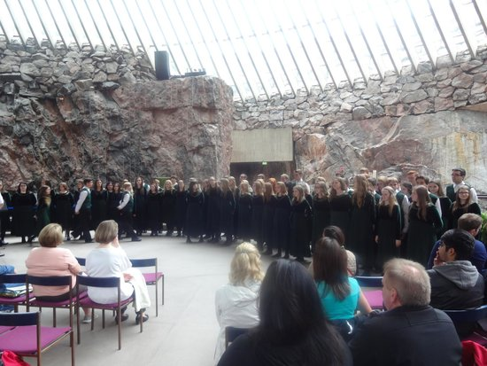 Iglesia de Piedra: More than 120 singers in the chorus